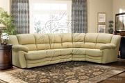 Срочно новый кожанный угловой диван!