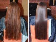 Бразильское Кератиновое Выпрямление Волос!