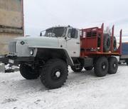 Продам Лесовоз Урал 43204 с новой площадкой на стандартном шасси