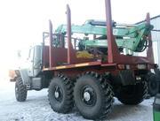 Продам Лесовоз Урал 43204 с манипулятором Атлант-С 90 и роспуском