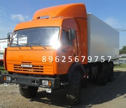 КАМАЗ 43118 фургон изотермический,  новый без электроники